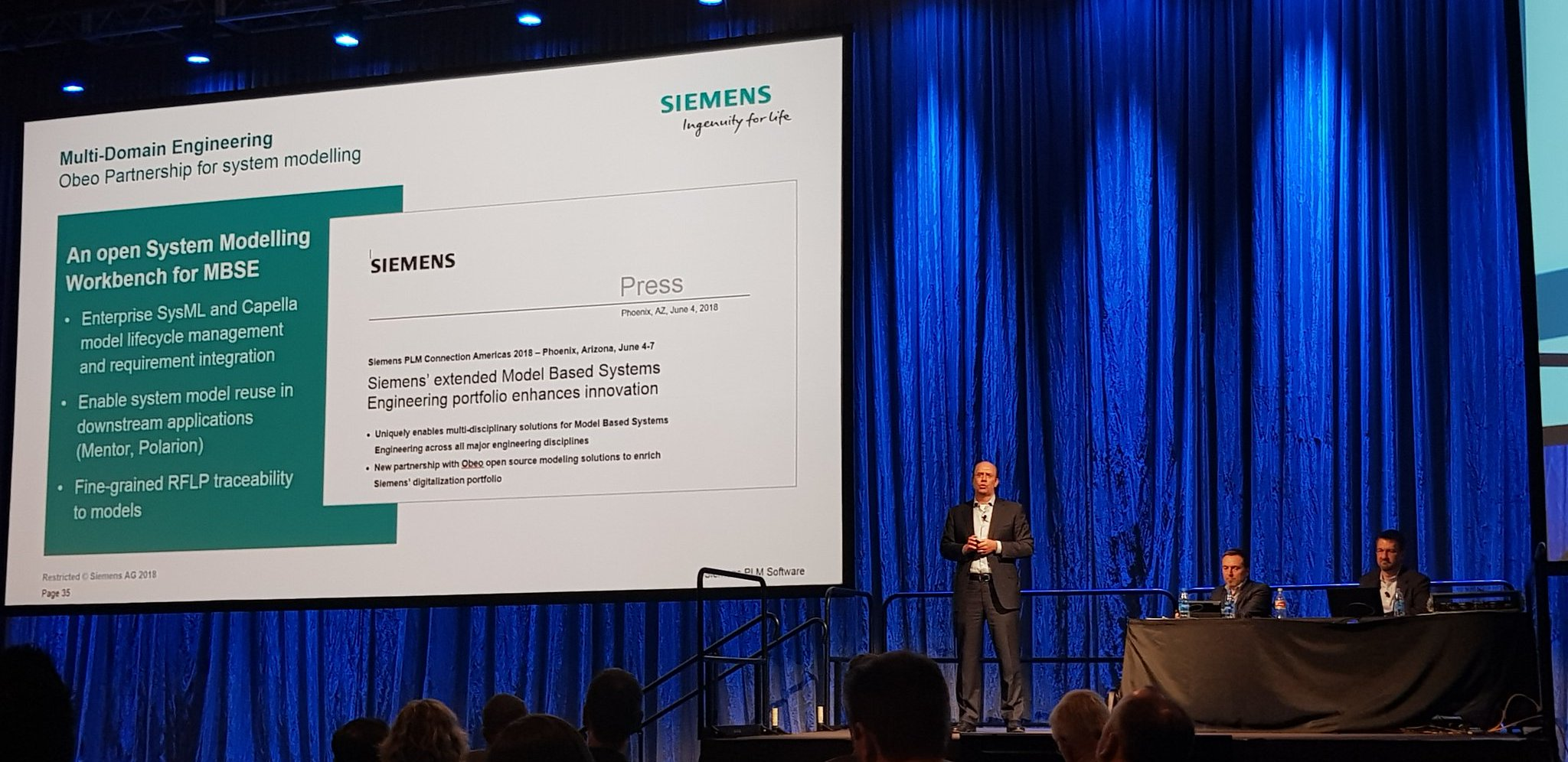 Siemens partnering with Obeo on Model Based Systems